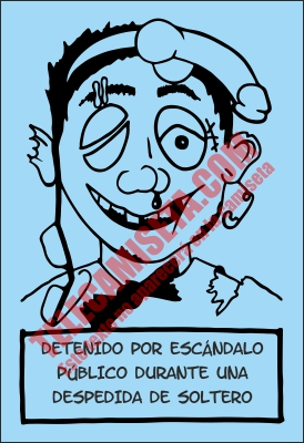Ficha Policial Dibujo Claras