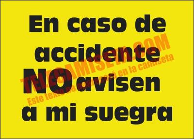 Accidente no avisen